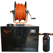 350ltr Wfp Window Cleaning System + 4ltr D/i Resin Filter + Metal Reel And Hose