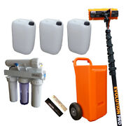 45ltr Xline Trolley Mid-range Package For Professional Window Cleaners