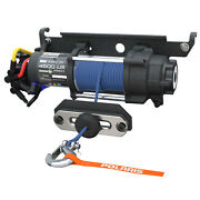 New Oem Polaris Ranger Pro Hd 4,500 Lb Winch With Rapid Rope Recovery - 2882711