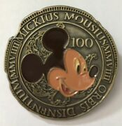 Disney Pin Museum Of Pin-tiquities Mop 2009 Mystery Ancient Coins Mickey Mouse