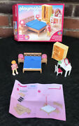 Playmobil 5331 Dolls House Bed Lights Side Lamps Double Bed Geobra