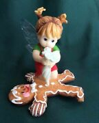 My Little Kitchen Fairies - Signed By G G - Gingerbread Cookie Fairie