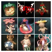Assorted Charming Tails Ornaments - You Choose
