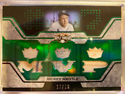 2008 Topps Triple Threads Mickey Mantle Game Used Bat Jersey 17/18 Real Dirt