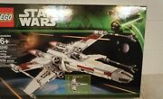 Lego 10240 Star Wars Red Five X-wing Starfighter Retired Vhtf Factory Sealed Ugh