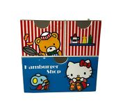Vintage 1976 Hello Kitty Hamburger Shop Drawers Oos Collectible Rare Limited