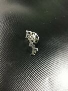 James Avery Sterling Silver Ref Referee Lapel Hat Pin Tie Tac Rare