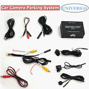 Car Camera Intelligent Front And Rear Switch Side View Parking System Control Box