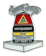 Key West Florida Southernmost Point Continental Usa Fridge Magnet