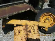 J D John Deere 400 Tractor Front Supportaxle Spindles Steering Arms And Hubs