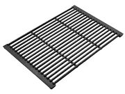 Jumbuck Cast Iron Bbq Grill 415x320mm 3 And 6-burner, Easy To Clean Black