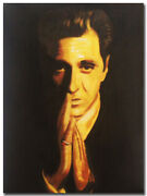 100 Hand Painted Oil Painting On Canvas Art - The Godfather - Al Pacino