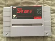 Snes Super Scope 6 Cart Only Tested Works