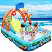 New Water Slide For Children Fun Lawn Water Slides Inflatables Pools For Kids