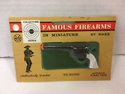 Vintage Famous Firearms In Miniature By Marx Toy Six Shooter Cap Gun New Sealed