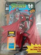 Spawn Medieval Figure Blue 1994 Mcfarlane Series 1 Comic Book Spin Action New