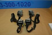 2010 W212 Mb E63 Amg Front Rear Left And Right Seat Belts Belt Black Set Of 4