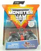 Northern Nightmare Monster Jam Truck Figure Poster Spin Master 2019 Toy Kid Gift