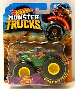 Mattel Hot Wheels Monster Jam 164 Scale Test Subject With Collectible Wheel