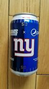 New York Giants 12oz. Pepsi Can - 2017 - Limited Edition - Ny - Nfl - Big Blue