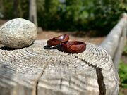 Handmade Cocobolo Wood Ring   Menandrsquos Wooden Ring   Womenandrsquos Ring Size 6 - 12