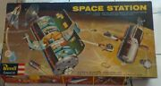 Very Rare 1959 Revell Space Station--- Complete + Repro Decals And Poster
