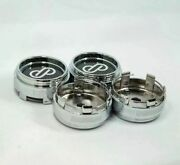 4 Pcs 66mm/62mm Enkei Japan Style Rpf1 Xxr Rota Racing Chrome Wheel Center Caps