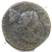1794 S-18b R-4 Pcgs Vg Details Head Of 93 Liberty Cap Large Cent Coin 1c
