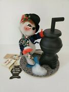 Annalee 10 Inch Limited Edition In From The Cold Mouse W Stove 1998 New W Tags