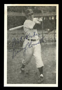1953 Danny Oand039connell Autographed Hq Signed Rppc Postcard Postmarked Gem Mint Sig
