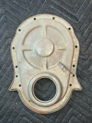 1969 Chevelle Corvette 7 Timing Cover Aor With Dowel Pin 396 325hp Dated 2869