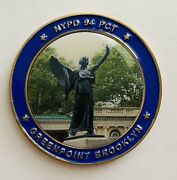 Brand New-sought After-94th Precinct-st Michael-nypd Challenge Coin