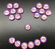 Vtg 1972 Richard Nixon Now Presidential Election Campaign Button Pins Lot Of 21