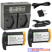 Kastar Lpe4n Decoded Battery Charger For Canon Eos 1d C Eos 1d X Eos 1d Mark Iii