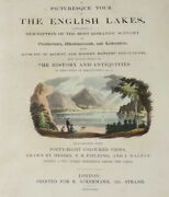 The English Lakes 1821 With 48 Full Page Color Illustrations Full Leather