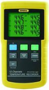 General Tools Dt4208sd Data Logging Digital Thermometer With Excel Format Sd Car