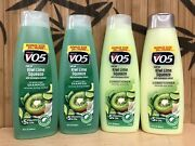 4pk V05 Vo5 Clarifying Detangle Shampoo Conditioner Kiwi Lime Squeeze 15 Oz