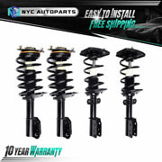 2x Front And 2x Rear Strut W/ Coil Spring For 1998-2010 2011 Chevy Impala Intrigue