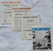 French Line Cgt Ss France Norway Land039atlantique Onboard Entertainments Menus Etc