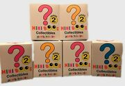 Set Of 5 Ty Beanie Boos Mini Boo Series 2 Collectible Figurines Blind Boxes