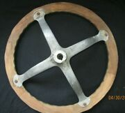 Ford Model T Wood Wooden Steering Wheel Oem Motor Car Early Automobile Antique