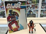 Vintage - Hasbro - Gi Joe - 1985 - Barbecue - Fire Fighter - Card - Complete 1