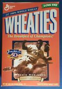 Vintage Wheaties Jackie Robinson 50th Anniversary Collectors Edition Cereal Box