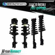 2x Front + 2x Rear Strut And Spring For 1997-2001 Lexus Es300 Toyota Avalon Camry