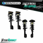 2x Front + 2x Rear Strut And Spring For 2004-2007 2008 Pontiac Grand Prix Exc. Gxp