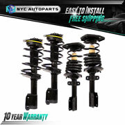 2x Front + 2x Rear Strut And Spring For 2005-08 2009 Buick Allure Lacrosse Impala