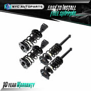2x Front + 2x Rear Strut And Spring For 1999-2005 Chevy Cavalier Pontiac Sunfire