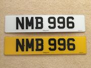 Private Number Plate Nmb 996 Dateless Plate Assignment Fee Has Been Paid