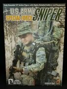 1/6 Us Army Special Forces Sniper From Hot Toys.