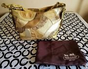 Coach Hard To Find Carly Signature Patchwork Tote Handbag